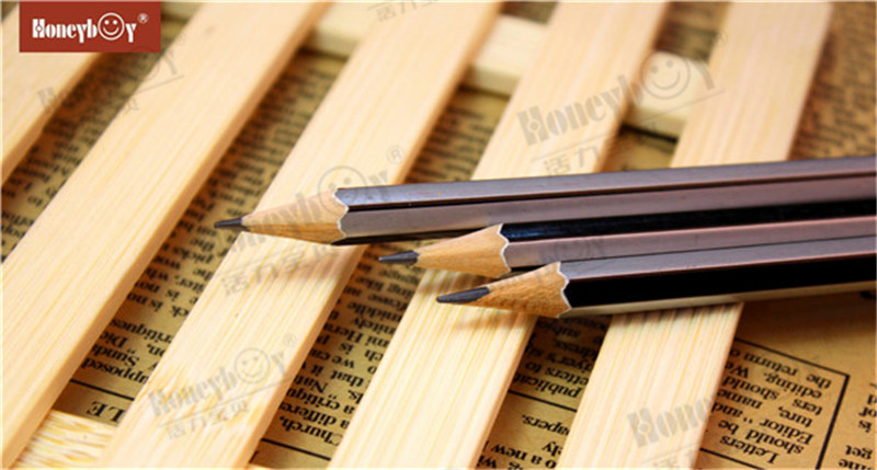 Sliver Dipped Cap Sharpened Stripe Paint Pencil From High Volume Manufacturer