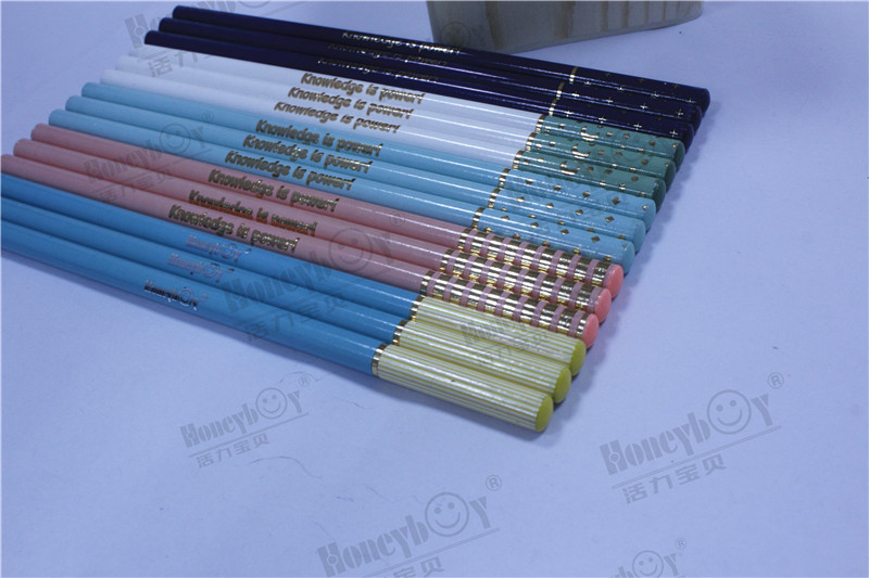 2021 Professional Manufacturer Dipped Heat Transfer HB Pencil