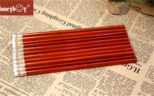 Hot Selling Red Metallic Paint Pencil with Eraser