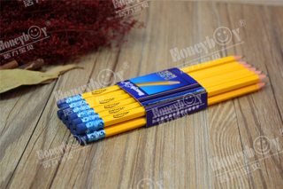China Classic Wooden Graphite Pencil NO.2 HB Pencil
