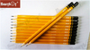 Honeyboy Yellow Body Dipped HB Pencil with Logo From China