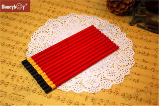 Honeyboy Red Body Hex Dipped Cap Pencil From China
