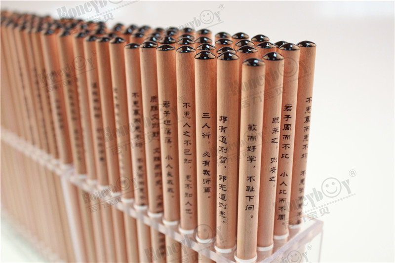 Honeyboy Dipped Chinese Style Natural Paint Pencil From China