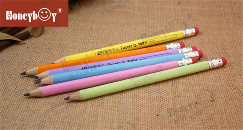 Large Scale Factory Jumbo Sharpened Pencil with Red Eraser
