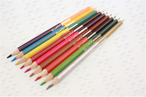 2021 China Honeyboy Metallic Bi-lead Double Color Pencil
